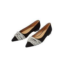 Osunlina женские туфли на плоской подошве с острым носком новинка