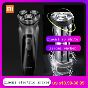 Image 1 - Xiaomi 3D Electric Shaver Nose Hair Trimmer Beard Electric razor shaving Machines for Men Washable Rechargeable Earphone AirDots