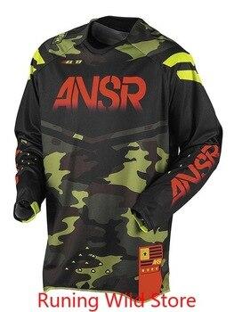 Camiseta de carreras para Motocross para hombre, Ropa de Ciclismo profesional para...