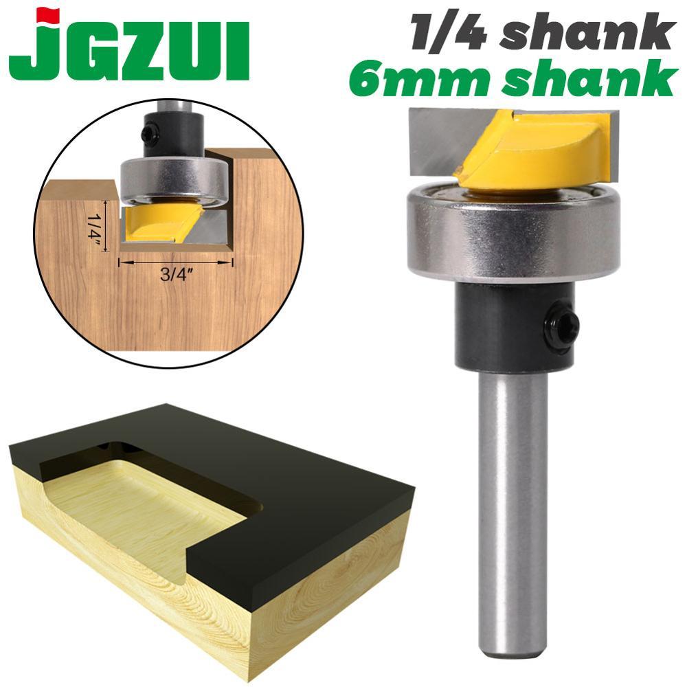 JGZUI 6mm Shank 1/4