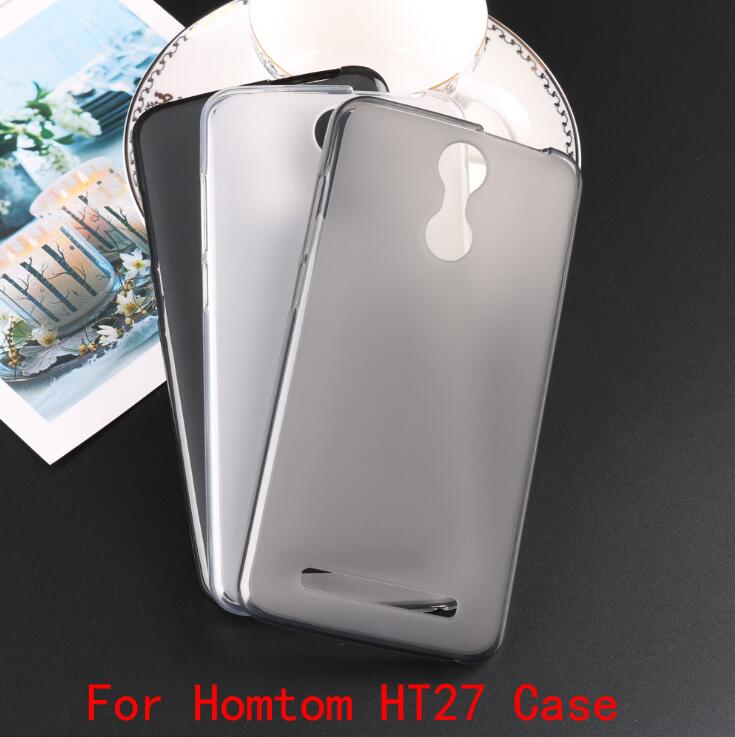 <font><b>Homtom</b></font> <font><b>HT</b></font> <font><b>27</b></font>,TPU mobile phone case, soft case, mobile phone protective cover, 1: 1 ratio non-slip, thin image