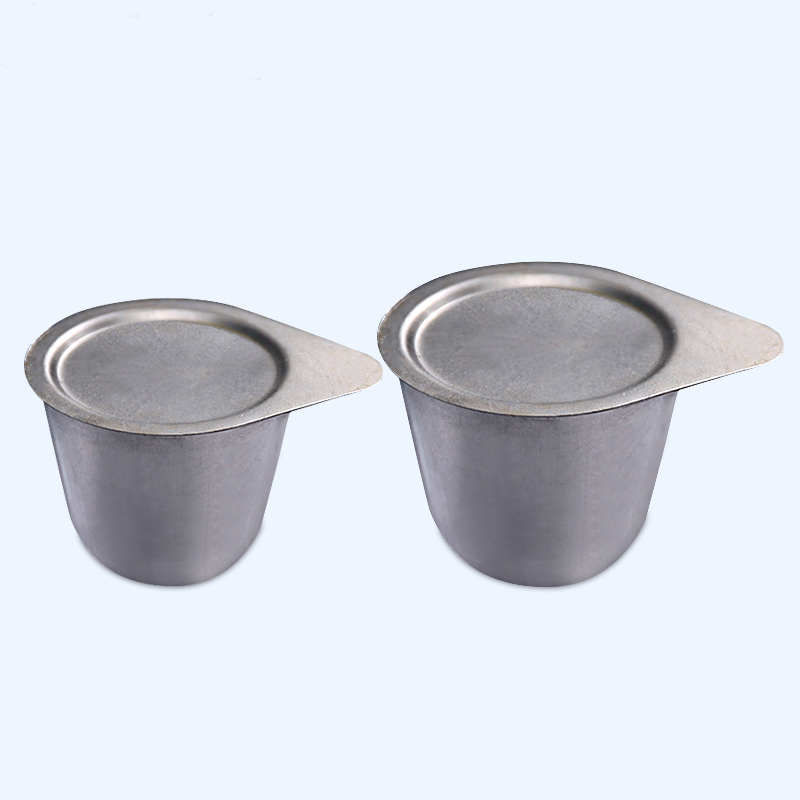 30/50mL Nickel Crucible High Purity And High Temperature Resistance