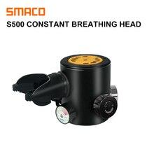 SMACO Diving Equipment Mini Scuba Diving  Oxygen cylinder head parts S500