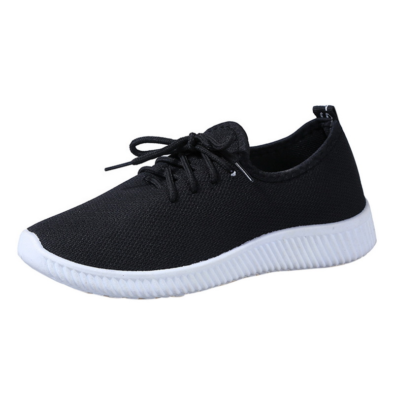 Women Sneakers Breathable Outdoor Running Female Shoes Mesh Canvas Shallow Sneakers Light Bottom Casual Ladies Shoes