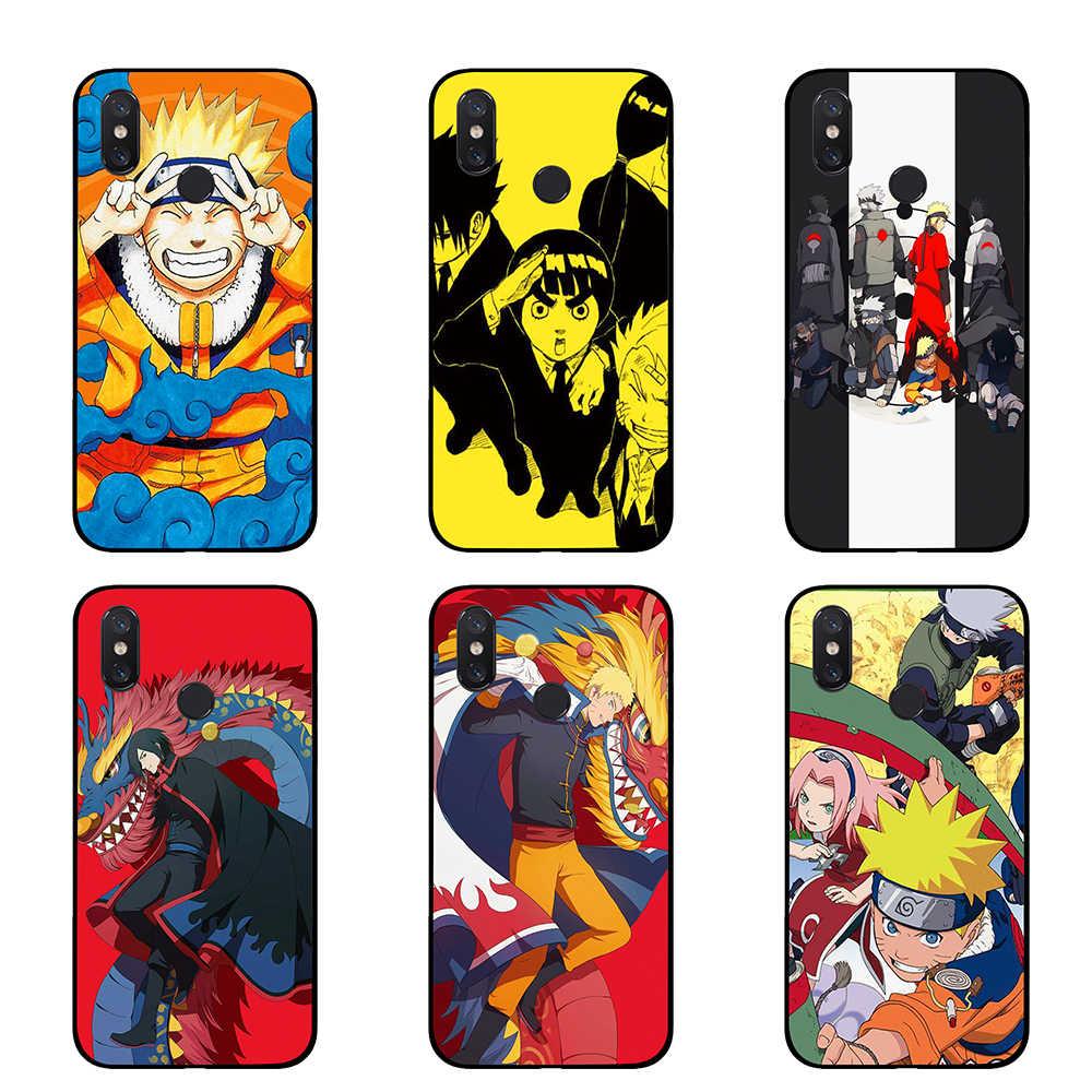 Naruto Anime Japonês Em Quadrinhos TPU casos de Telefone para Xiaomi Redmi IR 4 5 6 7 Pro 4A 4X 5A 5 além de 6A tampa Traseira