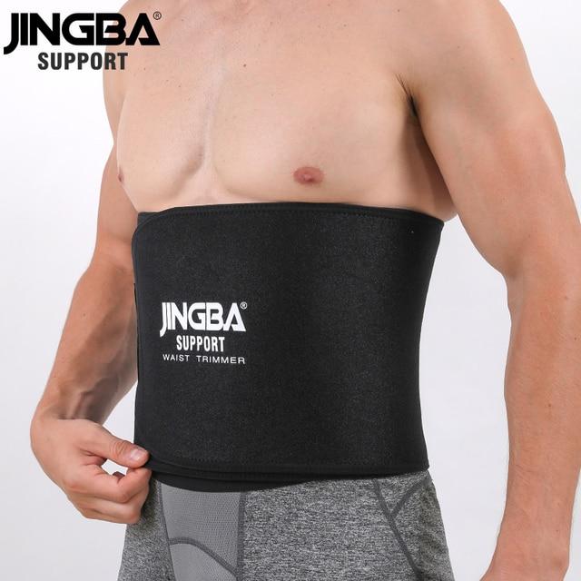 JINGBA SUPPORT Neoprene sport Waist belt Support Body Shaper Waist Trainer Loss Fitness Sweat belt Slimming Strap waist trimmer