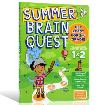 Summer Brain Quest Between Grades 1- 2 Children's puzzle workbook young explorers 2 phonics workbook
