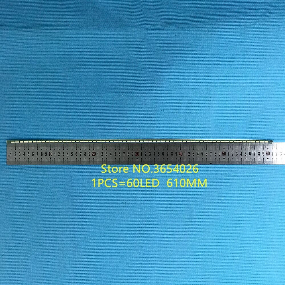 1piece   610mm LED Blacklight Strip 60leds For AOC TV I2769V 6916L-2585A Screen LM270WF5   1piece=60led  610mm
