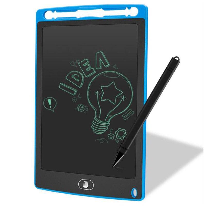 Планшет для рисования, 8 дюймов, детская доска для рисования, ЖК цифровой планшет, накладки для рукописного ввода, портативная электронная планшет, ультратонкая доска|ЖК-экраны и панели для планшетов|   | АлиЭкспресс