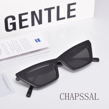 Cat-Eye-Sunglasses Packaging Vintage Women Brand Original CHAPSSAL Acetate UV400