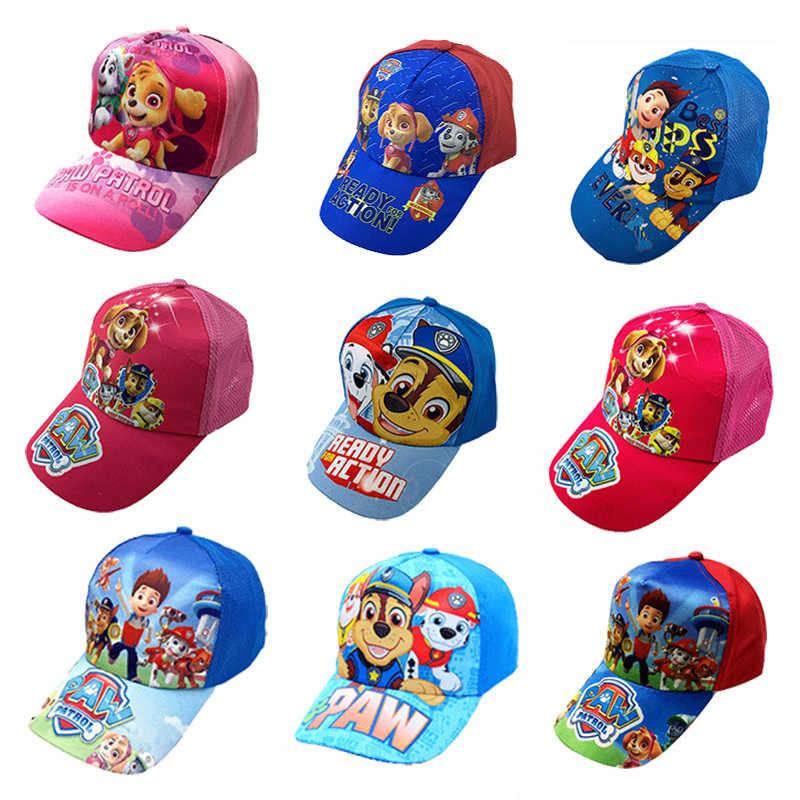Kids PAW Patrol Baseball Cap Summer Hat Age 2-3 Years Blue