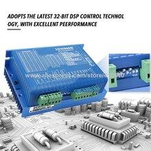 2 Phase Hybrid Stepper Motor Driver 2DM860 2DM860H DSp Control For NEMA34 Stepper Motor 24 To110V DC 18 To 80V AC Voltage original ma860h nema23 nema34 stepper motor driver peak current 2 4a 7 2a 18 80v for cnc router engraving milling machine