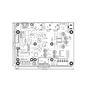 Image 4 - Lusya ES9038 Q2M DAC DSD Decoder Board Supports IIS DOP 32bit 384KHz DSD512 T0157