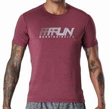 Мужская быстросохнущая футболка для бега спорта баскетбола фитнеса