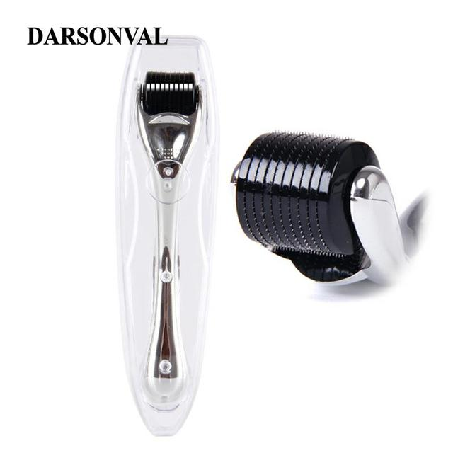 DARSONVAL DRS Silver 540 micro needles derma roller titanium mezoroller microneedle machine for skin care and body treatment