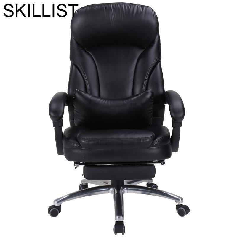 Sedia Chaise De Bureau Ordinateur Taburete Armchair Ergonomic Fotel Biurowy Leather Silla Gaming Cadeira Poltrona Office Chair