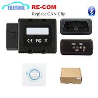 Re COM-escáner de diagnóstico OBD2 con Bluetooth para coche, escáner de diagnosis compatible con Can Clip, mejor que Can Clip probador PSA COM para Lexia3 PP2000