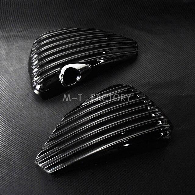 Protection de couvercle de batterie côté moto carénage couvercle de batterie pour Harley Sportster 2004-2013 XL 1200 883 quarante-huit 48 72 Nightster brillant noir protection de couvercle de batterie pour Harley Sport