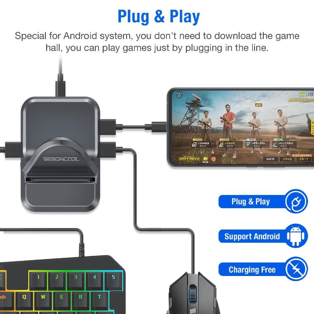GAMWING NEX PRO stojak antypoślizgowe gumowe powłoki Plug and Play wsparcie Android IOS do kurczaka gry celem którego do pomocnik