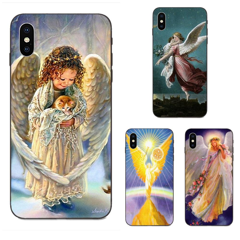 Angels Are <font><b>Watching</b></font> Over You 2018 For <font><b>Huawei</b></font> Honor Enjoy Mate Note 6s 8 9 10 20 <font><b>P20</b></font> P30 Lite Play <font><b>Pro</b></font> P <font><b>smart</b></font> Soft Design image