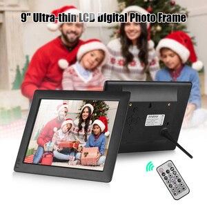 Image 5 - Andoer 9 pulgadas Ultra delgado IPS LCD Digital marco foto escritorio álbum 1280*800 compatible con foto/música/vídeo/alarma/detección de movimiento