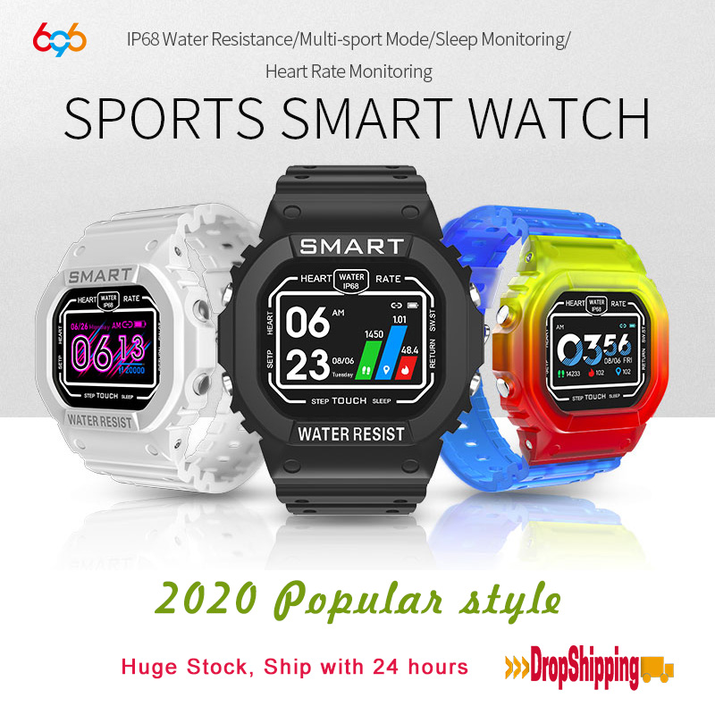 696 X12 K16 Smart Watch Ip68 Waterproof Fitness Sport Watches For Ios Android Heart Rate Monitor Blood Pressure Smartwatch Band