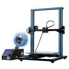 CRIATIVIDADE 3D CR-10 Max BL Nivelamento Automático Sensor de Filamento de Impressora 4.3 Polegada Tela Sensível Ao Toque LCD Resolução de Energia MeanWell