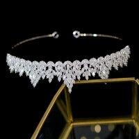 New tiara aaa cz bridal headdress