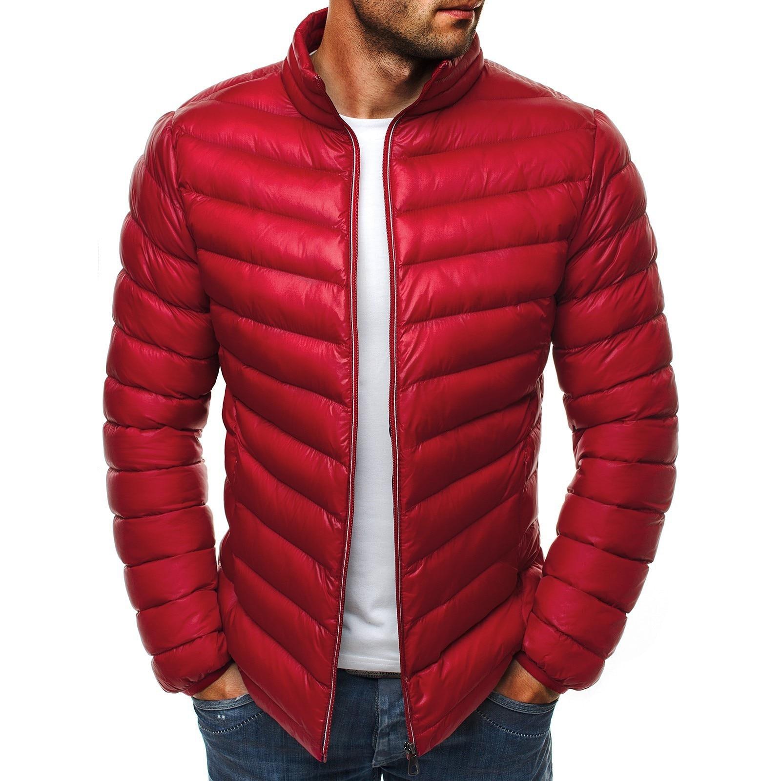 Mens Cotton Coat Winter Jacket Men Jackets and Coats  Parka Parkas