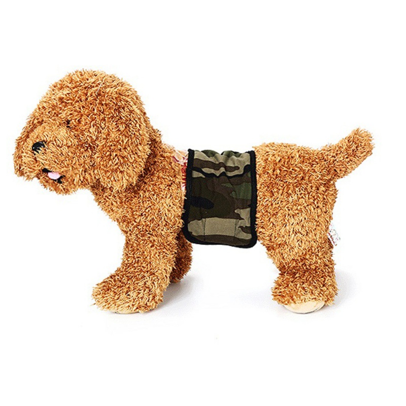 HOT Cute Pet Dog Physiological Pants Dot Cotton Pet Dog Panties Sanitary Dog Underwear Diapers Puppy Shorts Pants High Quality in Dog Shorts from Home Garden