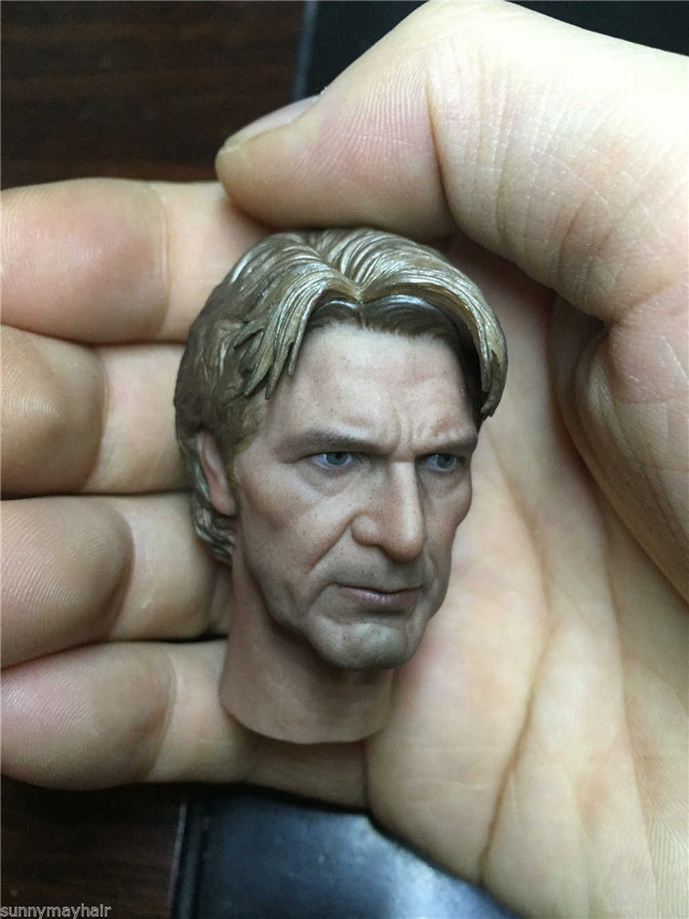 1//6 Scale Han Solo PVC Head Sculpt Harrison Ford Toy Fit 12/'/' Male Action Figure