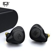 KZ S2 TWS Drahtlose Bluetooth 5,0 Kopfhörer AAC Touch Hybrid Ohrhörer Headset Noise Sport Control Lauf Bluetooth Kopfhörer KZ Z1