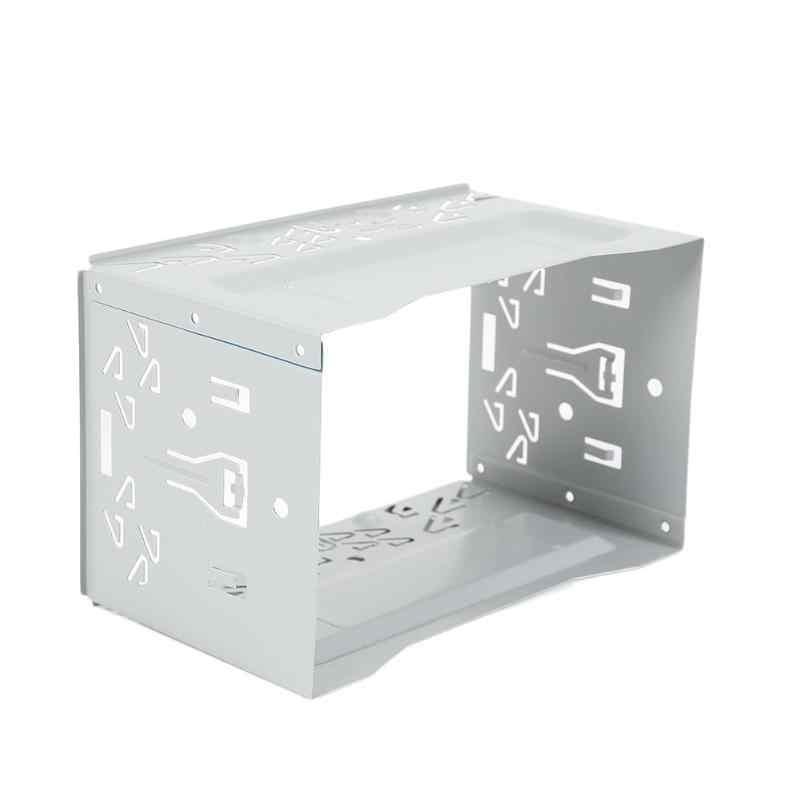 2 Din samochód radio odtwarzacz dvd żelaza z tworzywa sztucznego remont stałe uniwersalny typu praktyczne do montażu na ramie instalacji Bezel wykończenie panelu zestaw oblicowania