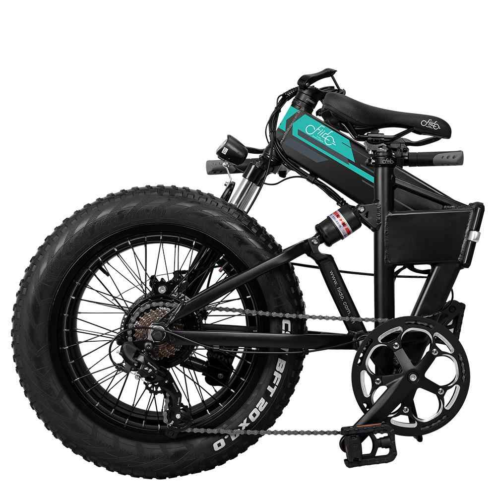 Eu Stock Fiido M1 Folding Moped Electric Bike Three Speed Version 20inch Tires 250w Motor Max 24km H 12 5ah Battery Led Bicycle Aliexpress