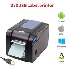 Xprinter – imprimante thermique d'étiquettes autocollantes, 20mm-80mm, Bluetooth, 365B, 370B, 330B, LAN, Bluetooth, USB