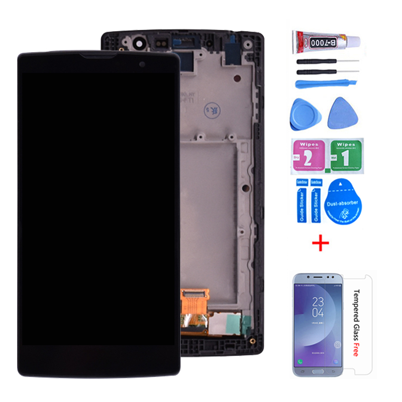 100% Original For LG Magna H502  LCD Display With Touch Screen H502F H500F H500R H500N Y90 Digitizer Assembly With Frame