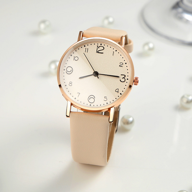 WJ-7900 Woman's Watch Fashion Simple Quartz Wristwatches Sport Leather Band Casual Ladies Watches Women Reloj Mujer Dress Gift