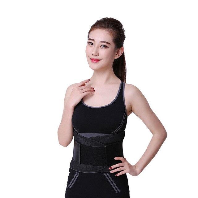 Waist Trainer Belt Support for Women & Man Waist Cincher Trimmer Weight Loss Ab Belt Slimming Body Shaper Sweat Belt 5