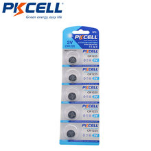 5 шт/карта pkcell 3v cr1225 1225 lm1225 br1225 ecr1225 kcr1225