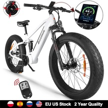 Electric Bicycle Cell-Battery Bicicleta Mid-Drive-Motor Snow Beach-Ebike Bafang LG Adult