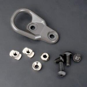 Image 1 - Tactische Mlok Handguard Sling Mount Adapter Keymod Slings Voor Sleutel Mod Systeem En M LOK Hand Guard Accessaries AR15 AK47 AK74