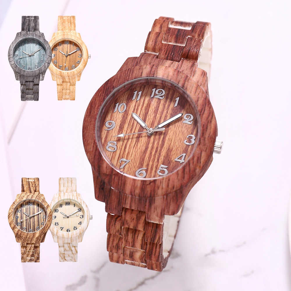 2020 Mens Designer Watches Fashion Casual Bamboo Bracelet Watches Wooden Watch Men Quartz Wristwatches Cheap Watches Mens Gift