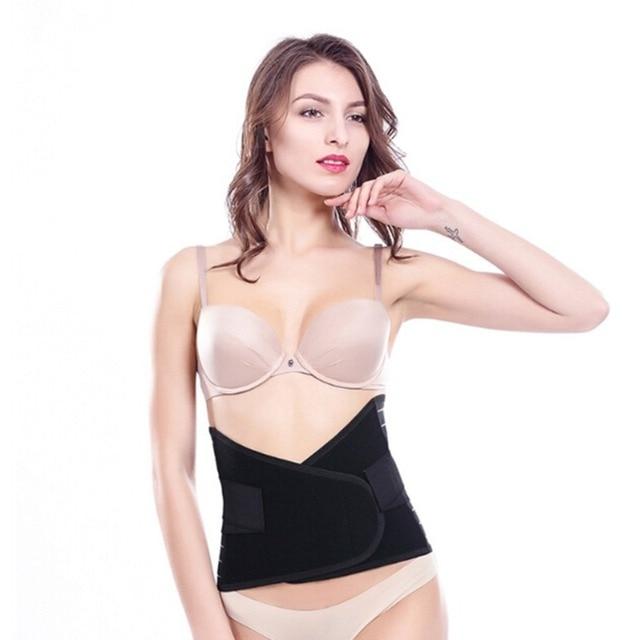 Abdominal Shaping Belt For Women Postpartum Waist Slimming Body Shaper Tummy Tuck Girdles Sports Sweat Belts Underwear Corsets 5
