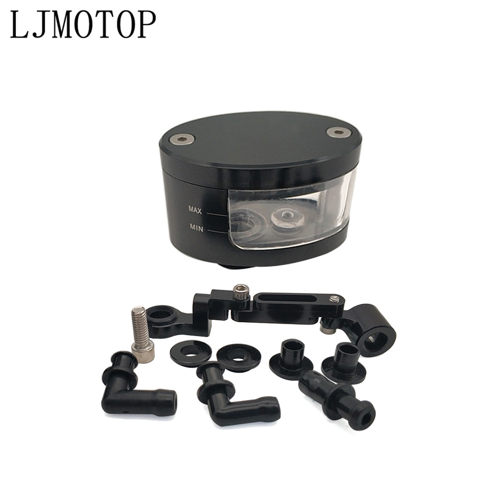 For YAMAHA YZF <font><b>R1</b></font> R6 2006 <font><b>2007</b></font> 2008 2009 2010 2011 2012 motorcycle hydraulic clutch brake cylinder Reservoir oil cup and bracket image