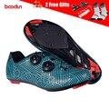 BOODUN 2019 Новая мужская обувь для велоспорта с нейлоновой подошвой дышащая обувь для горного велосипеда MTB обувь для триатлона самофиксирующа...