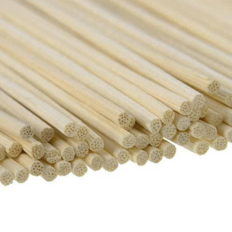 Natural Plant Fragrance Diffuser Sticks Aromatherapy Replacement Home 100Pcs