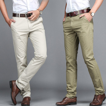 men's pants High Quality dress pants men business trousers Office casual social pants men's classic pants men suit pants