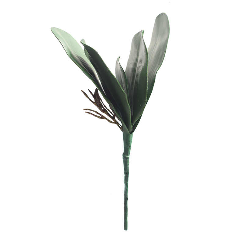 1Pc Vlinder Orchidee Blad Hoge Kwaliteit Real Touch Kunstbloemen Party Home Decor Bruiloft Decoratie Accessoires Nep Bloem