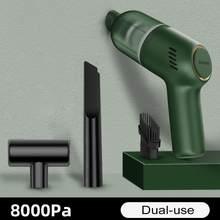Aspirateur Portable sans fil 120W pour voiture et maison, Mini aspirateur Portable à double usage, Rechargeable, haute puissance, collecteur de poussière
