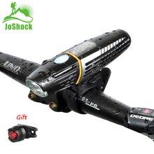 Joshock Bicycle Light Rainproof USB Rechargeable Electro-Optic Sensing Smart LED 2200mAh MTB Front Lamp Headlight  Flashlight